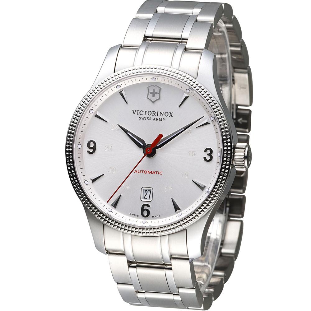 Victorinox 維氏 Alliance聯盟系列械機腕錶-白/40mm