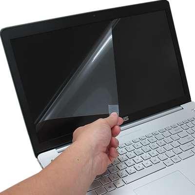 ASUS N750 N750JV 專用 靜電式筆電LCD液晶螢幕貼