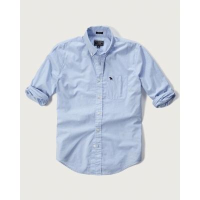 AF a&f Abercrombie & Fitch 長袖 襯衫 藍色 271
