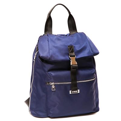 ANGIMI SHOP 後背手提韓版熱銷雙造型包-藍色