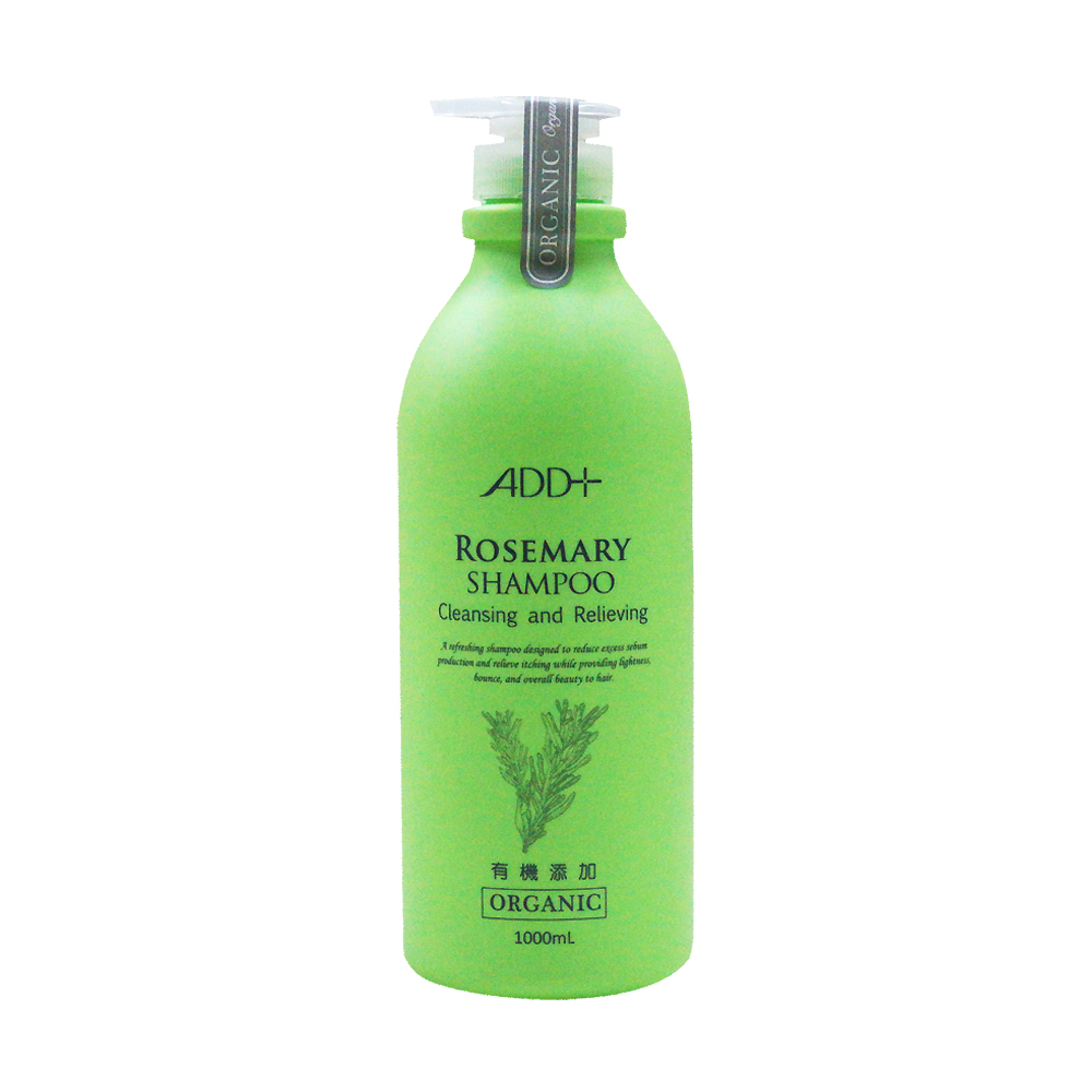 ADD+ 有機添加迷迭香油控抗屑洗髮乳1000ml