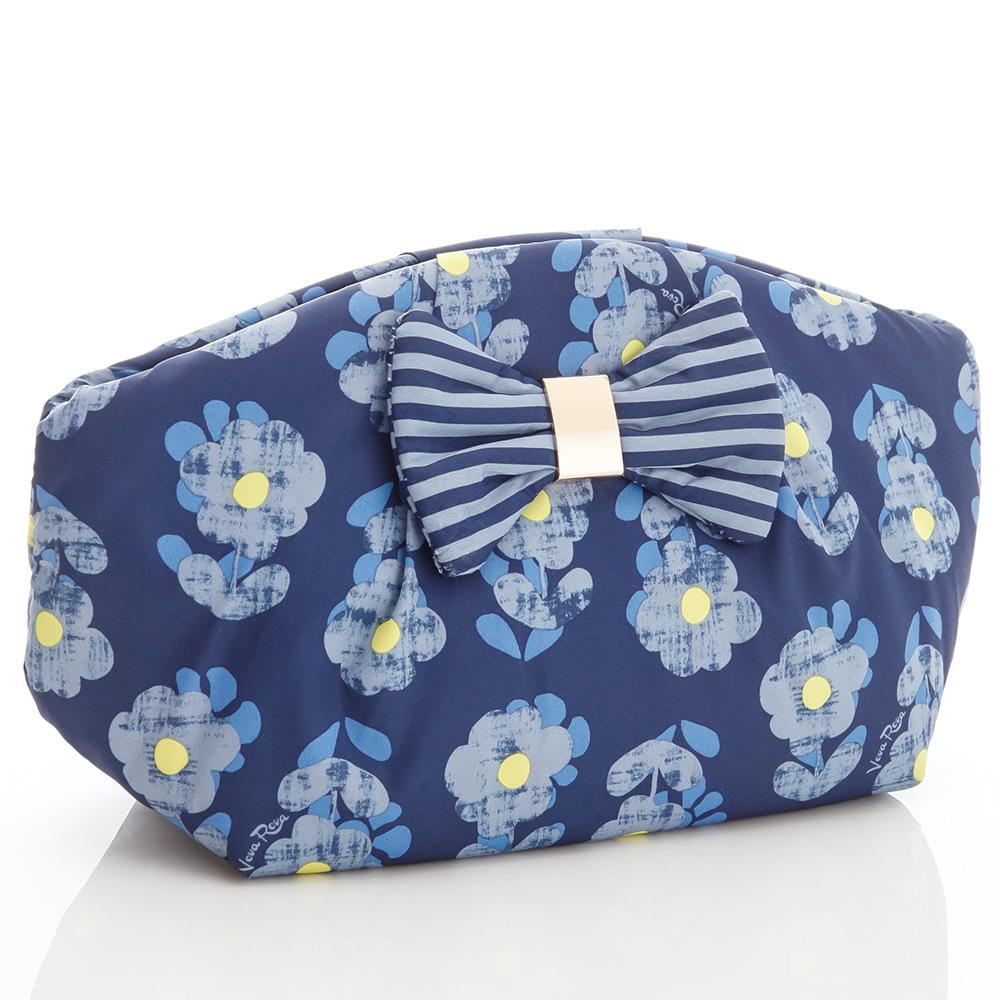 VOVAROVA空氣包-花園系列-秘密花園(藍)-隨身化妝包