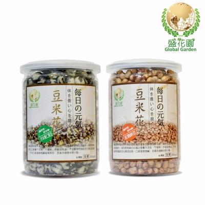 盛花園 青仁黑豆+紅麴納豆4件組