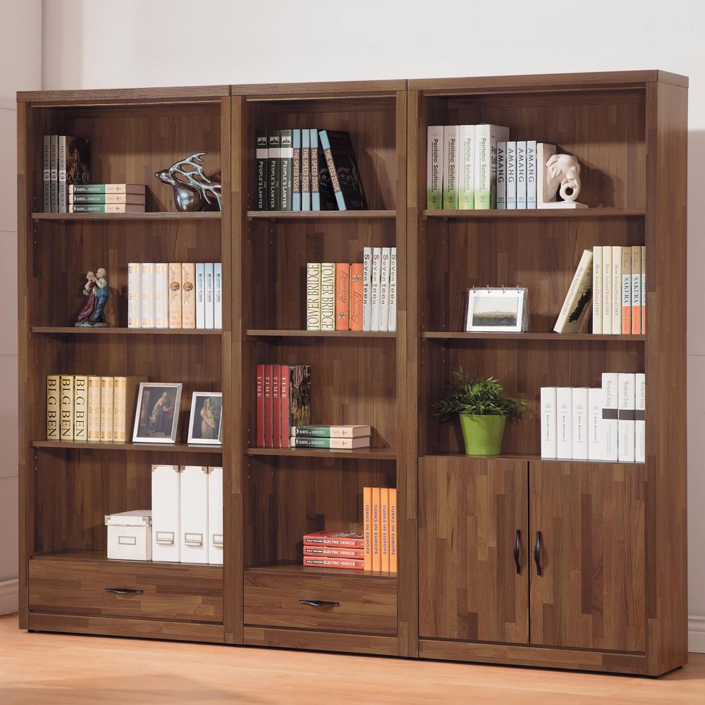 時尚屋 積層木7.2尺書櫃組 寬218x深33x高182cm