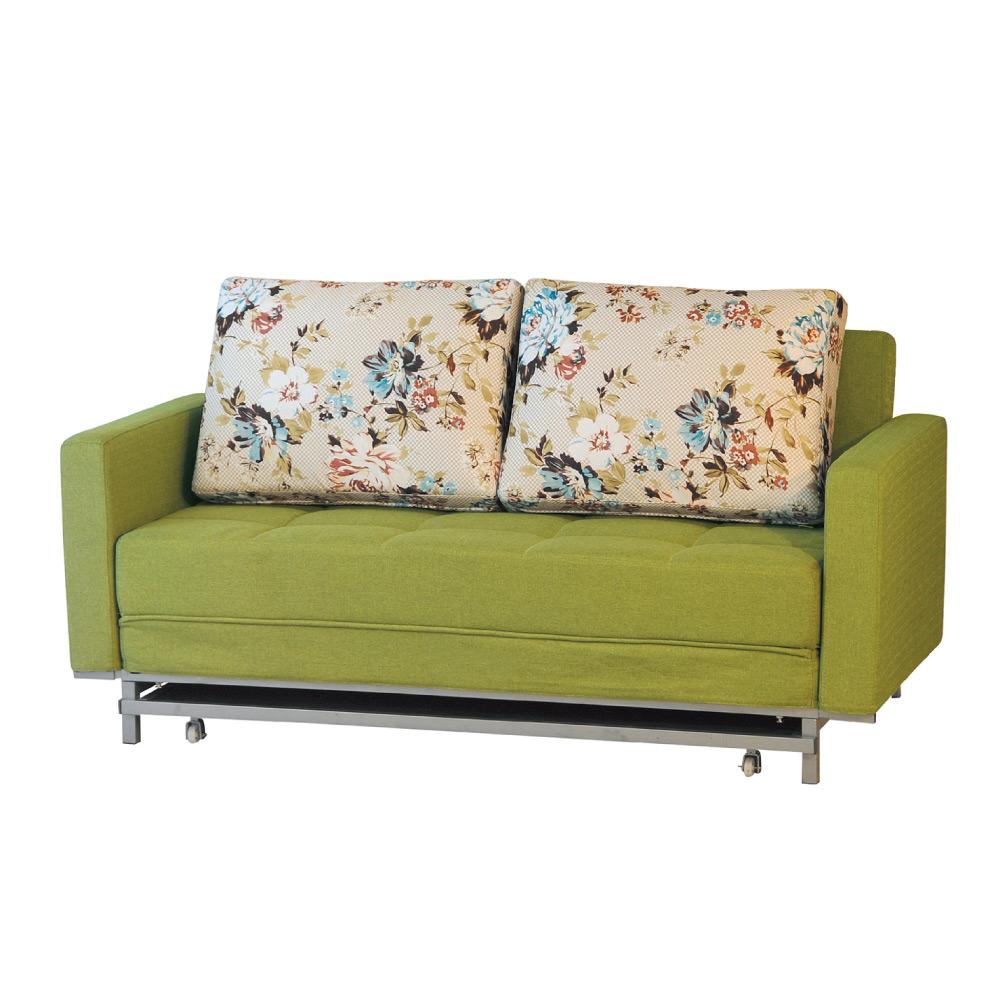 品家居 米森布面功能沙發床(兩色可選)-172x95x90cm-免組