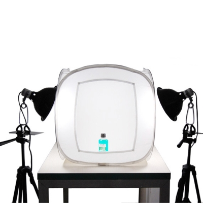 digiXtudio直立30W省電白光50公分攝影棚套組