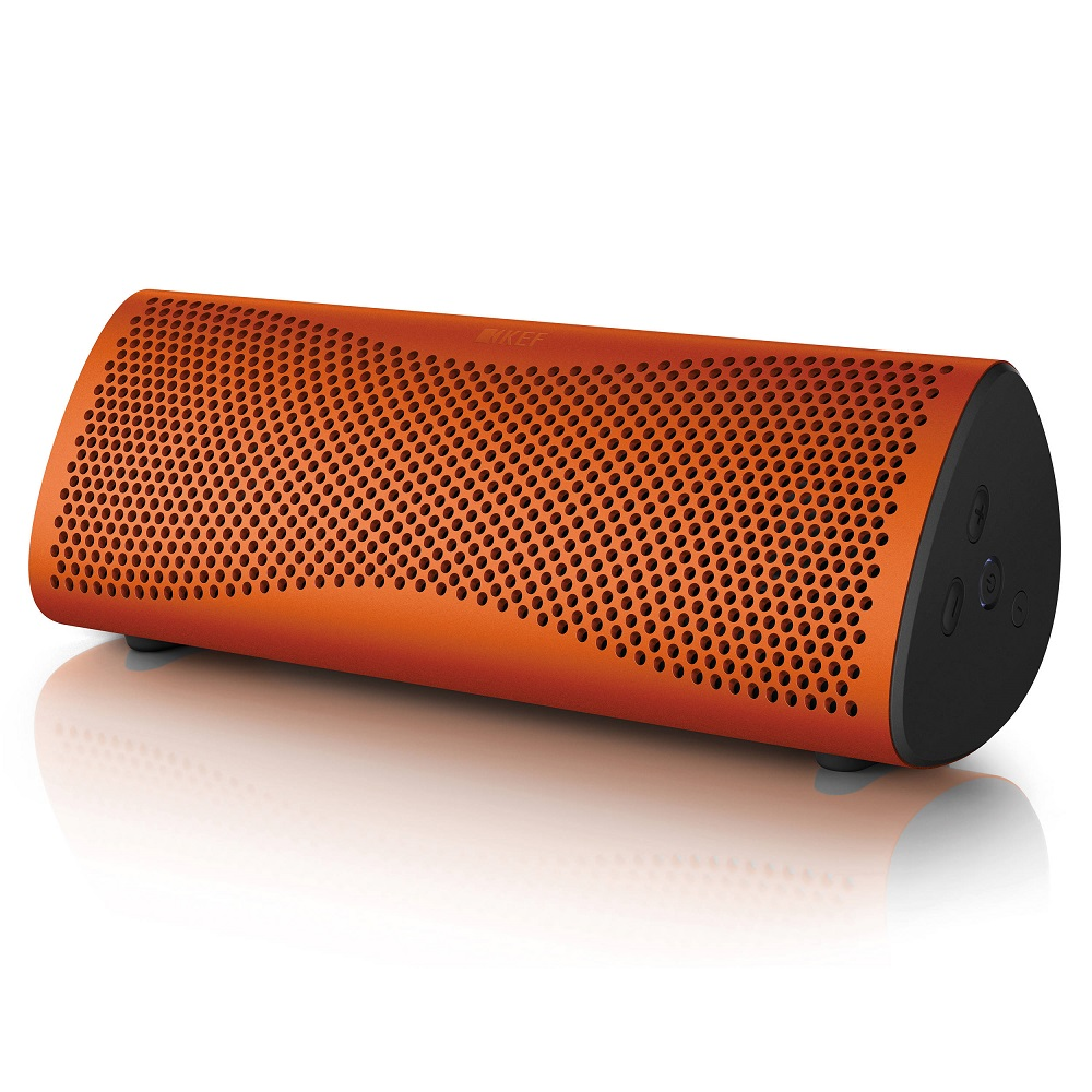 英國 KEF MUO 無線 藍芽喇叭(橘)