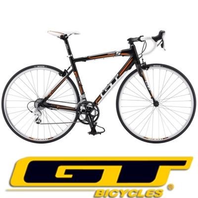GT GTR- 5 . 0  E 新式鋁合金 16 速公路跑車(黑橘)