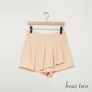 beartwo 簡約氣質百褶褲裙(二色)