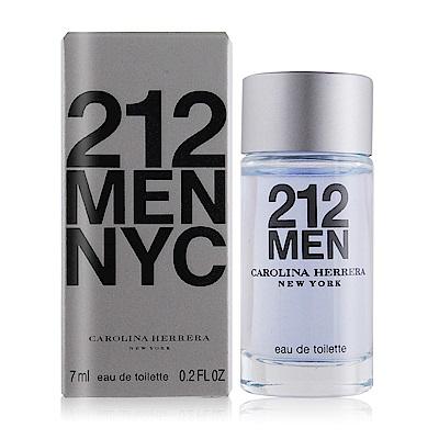 Carolina Herrera 212 MEN男性淡香水小香7ML