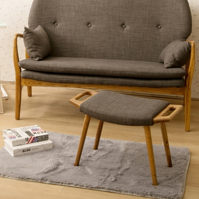 諾雅度 Moira莫伊拉和風日作腳椅-鐵灰