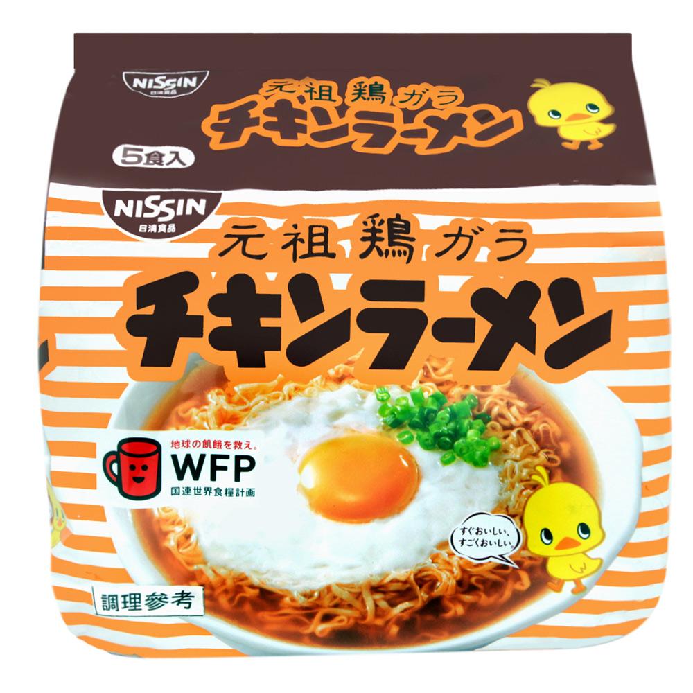 日清 元祖雞汁麵(85gx5入)