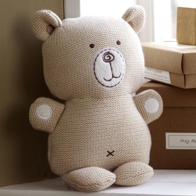 英國Natures Purest天然有機棉-針織抱抱熊(PTHM0070330)