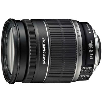 Canon EF-S  18 - 200 mm f/ 3 . 5 - 5 . 6  IS廣角望遠鏡頭(公司貨)