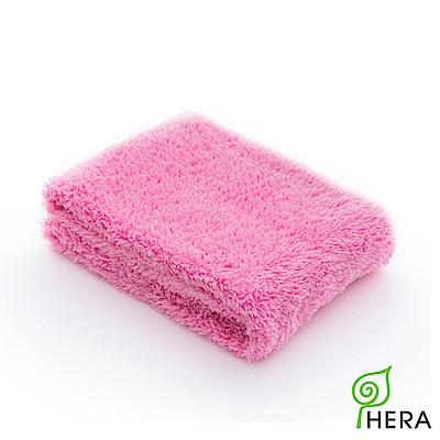 HERA 3M專利瞬吸快乾抗菌超柔纖-毛巾-蜜桃紅