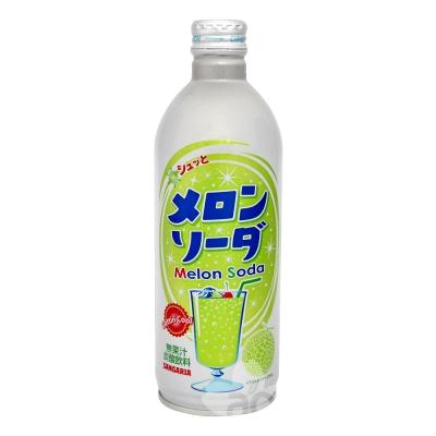 Sangaria Beverage 隨手罐碳酸汽水-哈蜜瓜風味(500g)