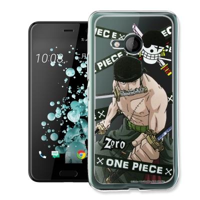 航海王 HTC U Play 5.2吋 透明軟式手機殼(封鎖索隆)