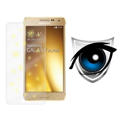 D&A Samsung Galaxy Alpha 日本9H濾藍光疏油疏水...
