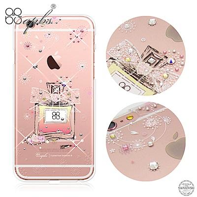 apbs iPhone6s/ 6 Plus 5.5吋 施華洛世奇彩鑽手機殼-維也納馨香