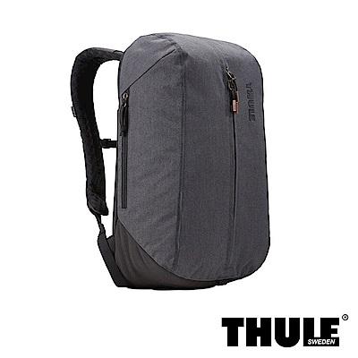 Thule Vea 17L 丹寧風單層後背包(黑色/15 吋內筆電適用)