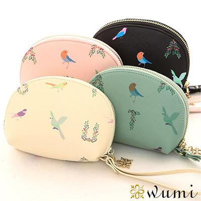 WuMi-無米-娜塔莎貝殼手拿零錢包-共四色