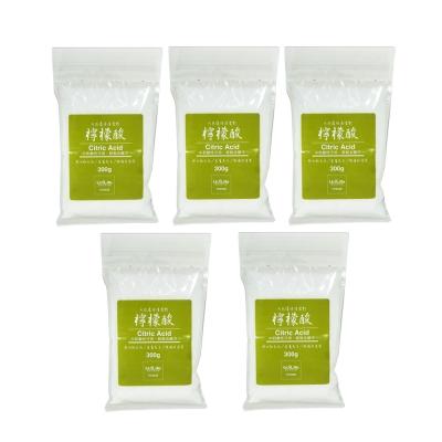 U-diLife 天然環保清潔劑/檸檬酸300g(5包入)