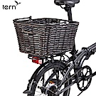 【Tern 】Market Basket後貨架專用編織仿籐快拆式菜籃-黑