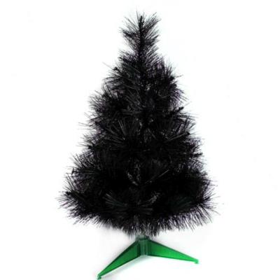 台製2尺(60cm)特級黑色松針葉聖誕樹-裸樹