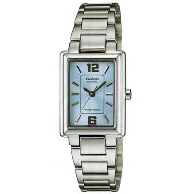 CASIO方采熟女知性女錶腕LTP-1238D-2A-藍