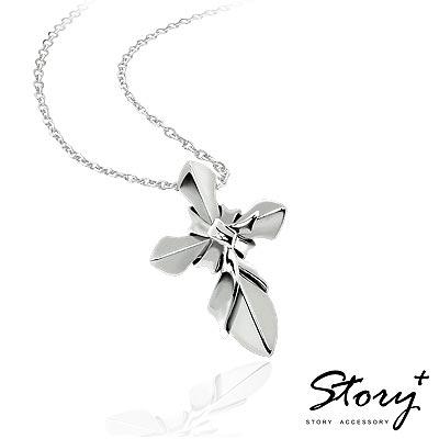 STORY故事銀飾-海克力斯之結-十字架純銀項鍊