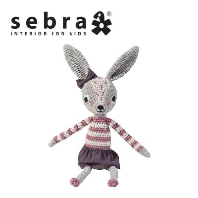 奇哥 sebra 兔子鉤針娃娃