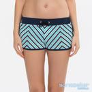 澳洲Sunseeker泳裝緹花網洞條紋雙層泳褲-藍