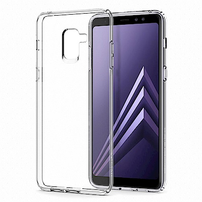 Spigen Galaxy A8+ (2018) Liquid Crystal-...