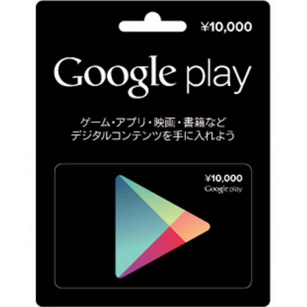 (虛擬點數) Google play Card 10000 點 日帳專用
