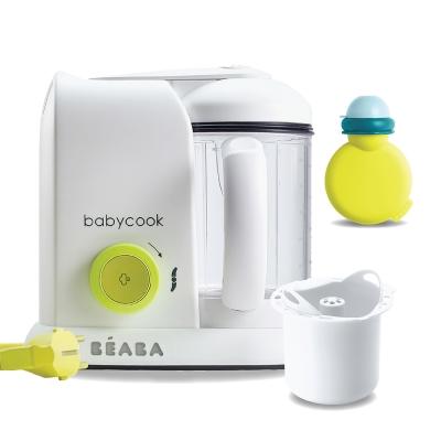奇哥 BEABA 副食品調理機(白)+米飯蒸煮籃