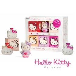 Hello Kitty夢幻組(小香5ml*5入+公仔乙只)