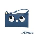 KINAZ 星空閃爍手拿零錢包-星空藍-貓頭鷹系列