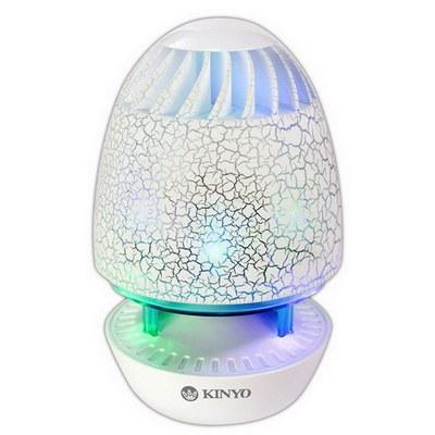 KINYO USB 立體聲喇叭 魔幻彩蛋(US-180)