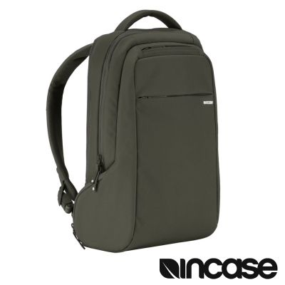 INCASE ICON Slim Pack  15  吋電腦後背包-軍綠