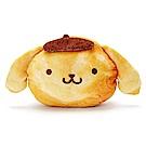 Sanrio 三麗鷗明星趣味麵包店系列大臉造型絨毛化妝包(布丁狗)