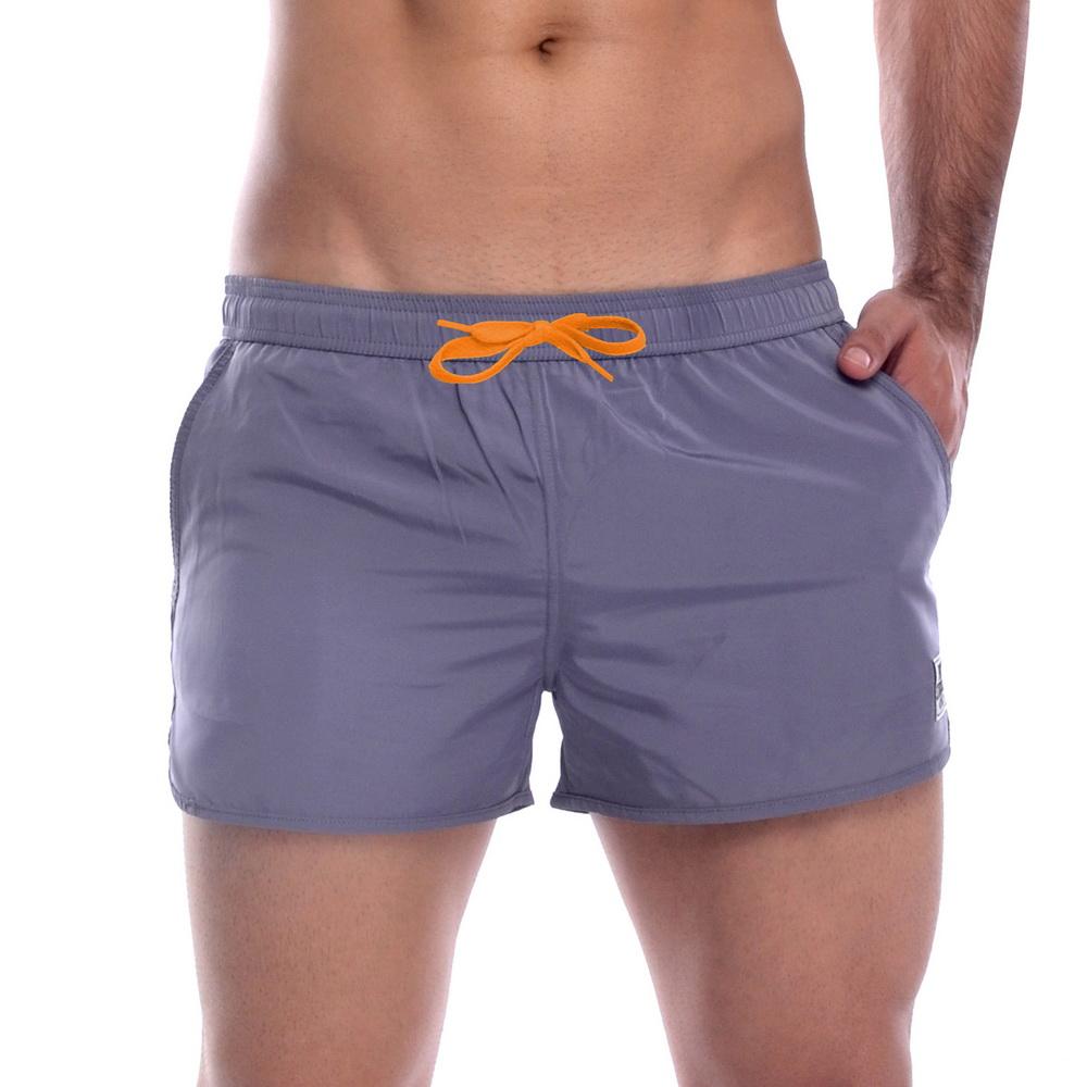 《PRIVATE STRUCTURE》健身型運動短褲(灰色)