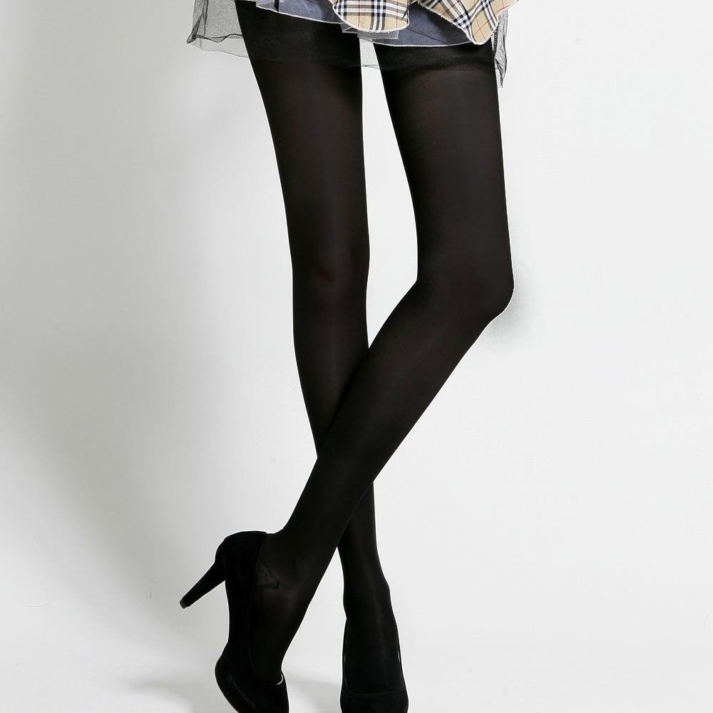足下物語  360丹輕盈美腿襪2件組S-XL(黑)