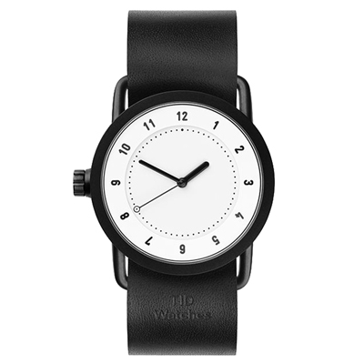 TID Watches No.1 White -TID-W200-36-BW/36mm