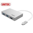 UNITEK 優越者TypeC轉 HDMI+USB3.0轉接器