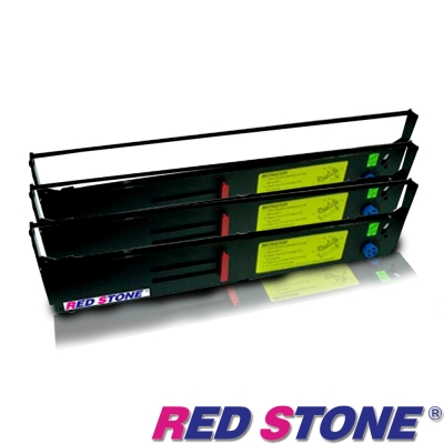 RED STONE for PRINTEC PR9370/ OKI8570色帶組(3入)
