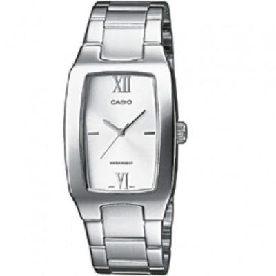 CASIO 清新時尚酒桶型指針紳士腕錶(MTP-1165A-7C2)白面/27mm