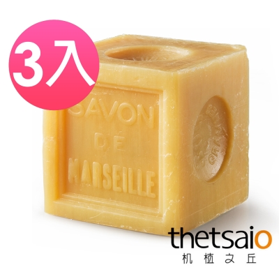 thetsaio機植之丘 普羅旺斯大道原味馬賽皂300g_3入組