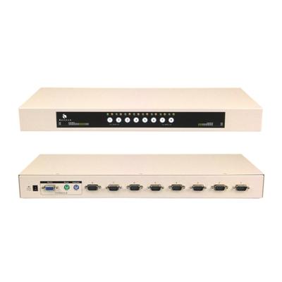 BENEVO-BKVM108PDU2-機架型-8埠PS-2-KVM多電腦切換器