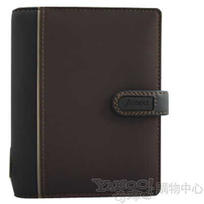 【filofax】SKETCH 剪影系列  口袋(小)  巧克力色