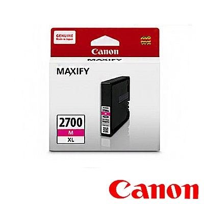 Canon PGI~2700XL M  紅色高容量墨水匣